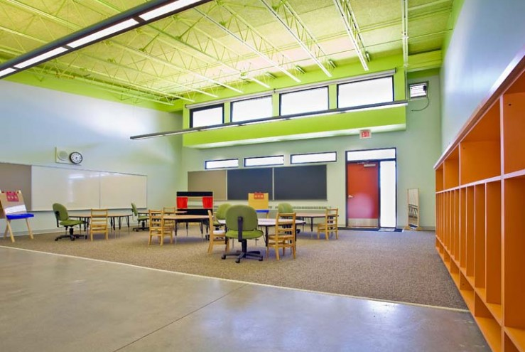 Baker architecture design projects educational for Interior and exterior design schools