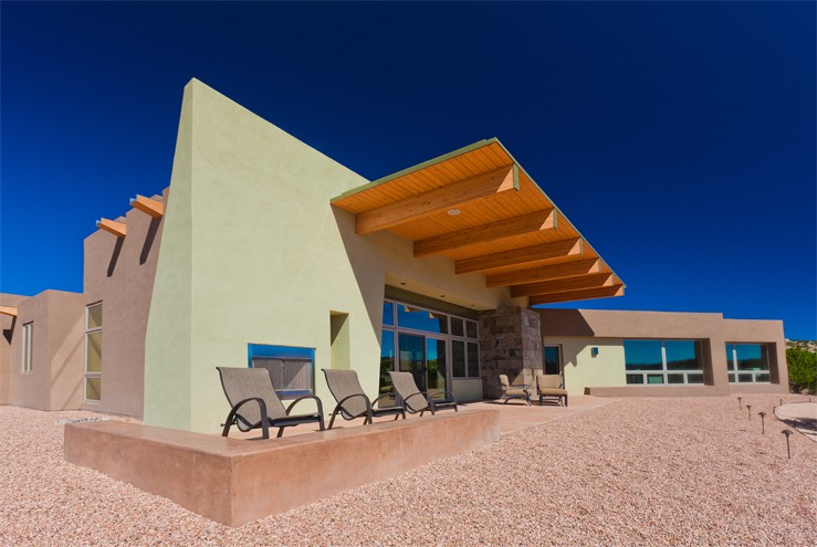 Baker architecture design projects residential for Modern homes albuquerque